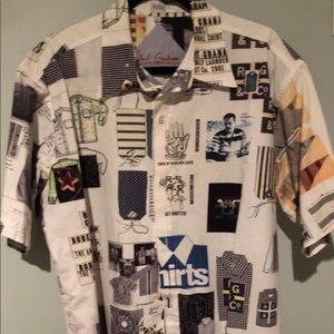 Robert Graham Freshly Laundered shirt L circa 2001